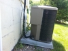 How not to install a condensing unit (4)
